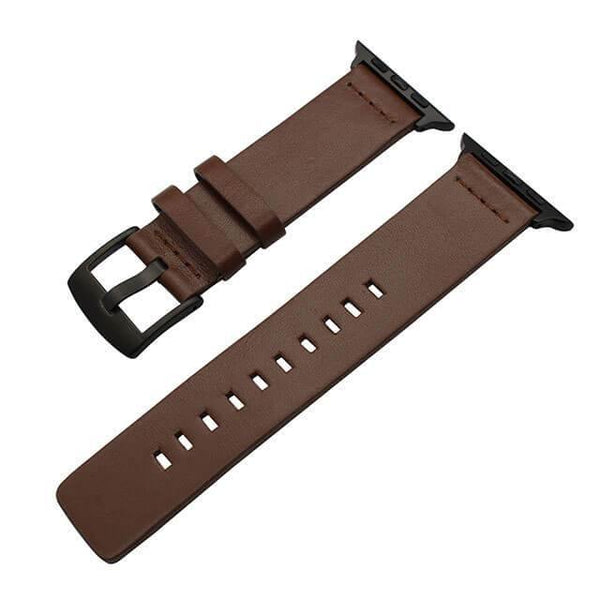 Oily Leather Apple Band