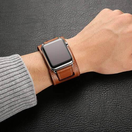 Leather Watch Bracelet Band