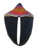 Black Vibration scarf - Qiim