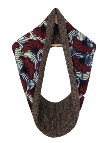 Brown Sibia Scarf