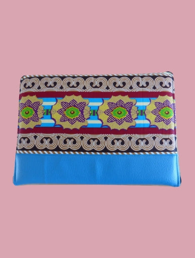 Blue Nenuphar Laptop Case