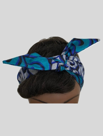 Blueish Headband For Women - Qiim