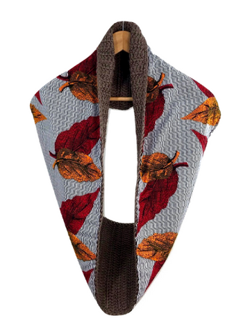 Brown Autumn Scarf - Qiim