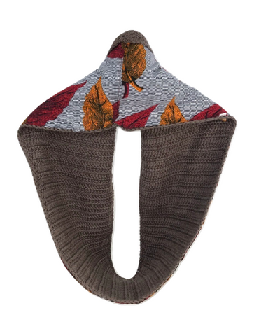 Brown Autumn Scarf