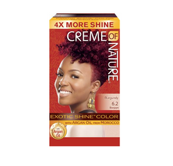 Creme Of Nature Exotic Shine Permanent Hair Colour # Burgundy Blaze - 6.2