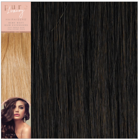 Pure Luxury, Remy Weft Hair Extensions 120g