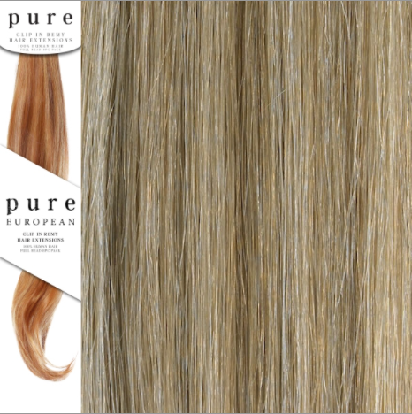 Pure Remy Clip in Human Hair Extensions