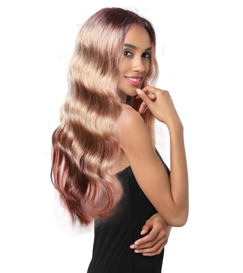 Cynthia Human Hair Lace Parting Wig
