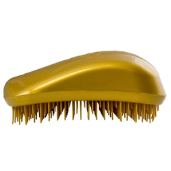 Dessata Mini Detangling Brush. Gold & Gold
