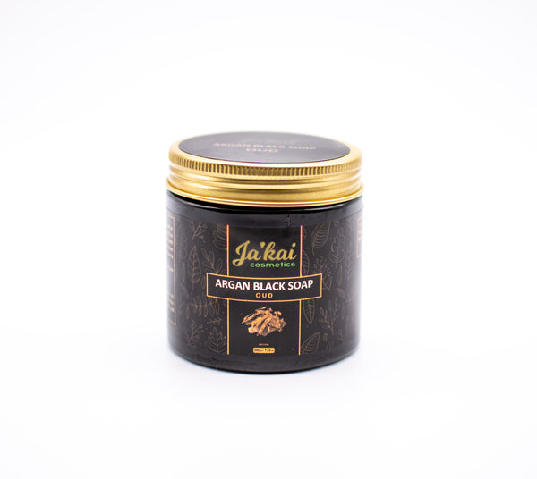 Argan Black Soap Oud