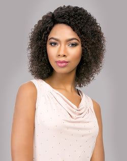 Natural Jerry Brazilian Virgin Remi Wig