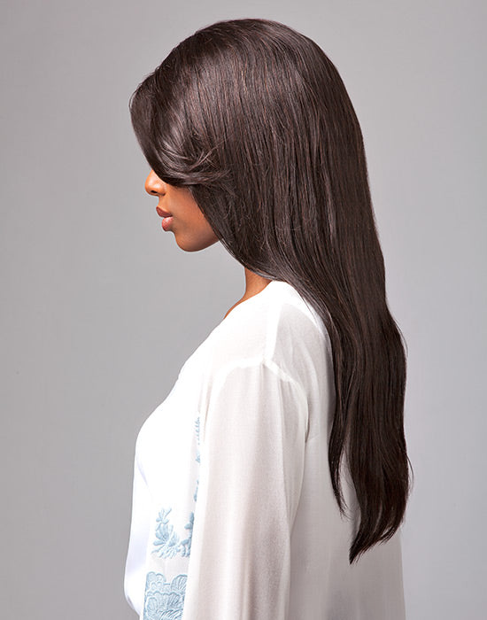 Natural Straight Brazilian Virgin Remi Wig