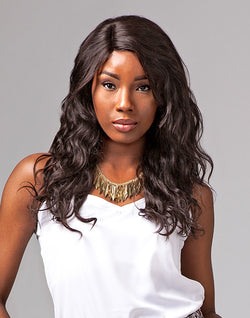 Natural Wavy Brazilian Virgin Remi Wig