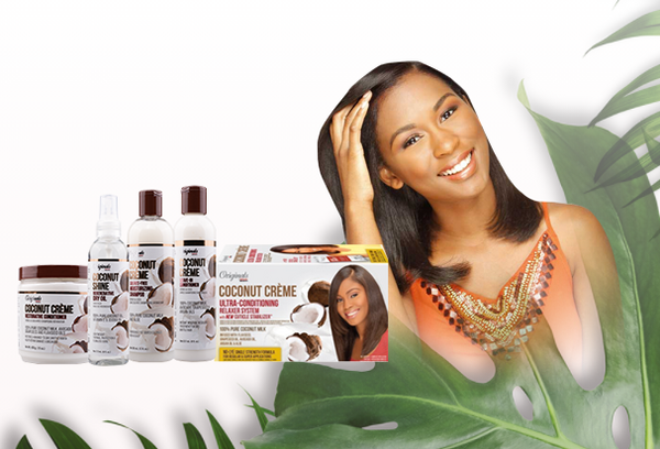 Original Africa's Best Coconut Creme Ultra-conditioning Relaxer System 426g