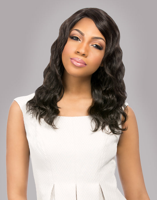 Natural Loose Deep Brazilian Virgin Remi Wig
