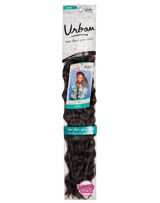 Feme Urban Crimp Elegant Synthetic Hair crochet Braids 88g
