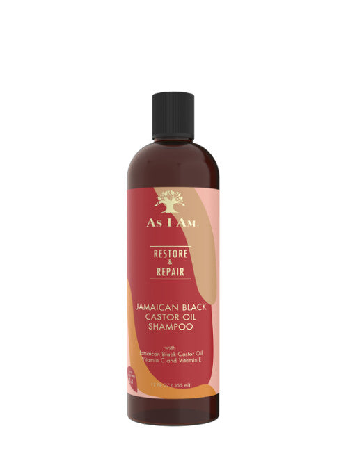 As I Am Jamaican Black Castor Oil Shampoo 355ml