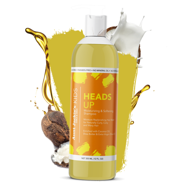 Aunt Jackie's Heads Up Moisturizing & Softening Shampoo 12oz