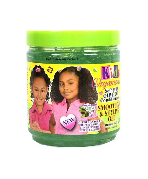 Kids Original Africa's Best Soft Hold Olive Oil Smoothing & Styling Gel 15oz
