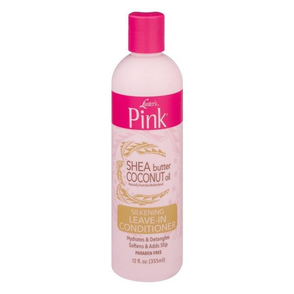 Luster's Pink Shea Butter Coconut Oil Silkening Leave-in Conditioner 12oz