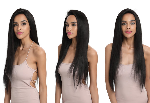 Luna Straight Virgin Human Hair Wig