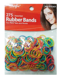 Magic Collection 275 Rubber Bands Assorted - 2751