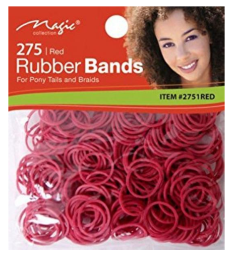 Magic Collection 275 Rubber Bands Red - 2751