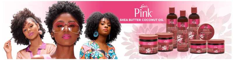 Luster's Pink Shea Butter Coconut Oil Moisture Gel Curl Activator 16oz