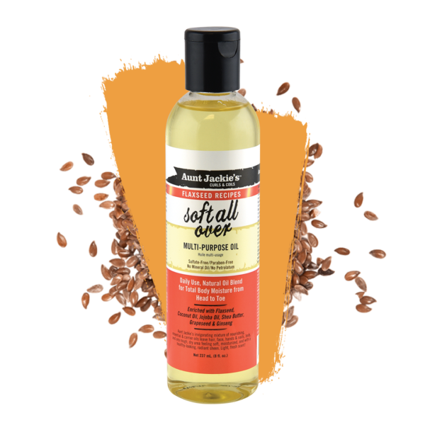 Aunt Jackie's Soft All Over Multi-purpose Oil Therapy 237ml