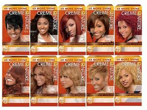 Creme Of Nature Exotic Shine Permanent Hair Colour # Light Golden Blonde - 9.23