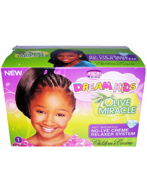 Africa Pride Dream Kids No-Lye Creme Relaxer System (Coarse) 1 App 430g