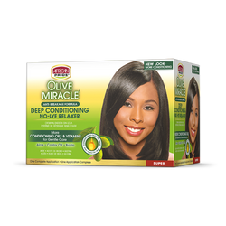 Olive Miracle Deep Conditioning No-Lye Relaxer (Super)