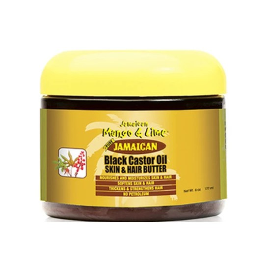 Jamaican Mango & Lime Black Castor Oil Skin & Hair Butter 6oz