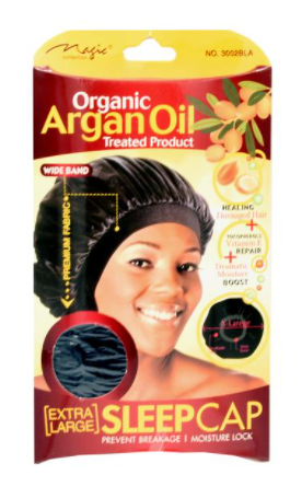 Magic Collection Women's Organic Argan Oil Treated Extra Large Sleep Cap ( 3002 )