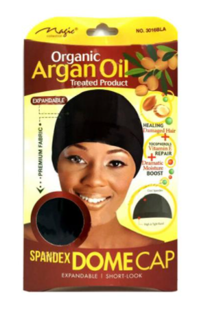 Magic Collection Women's Organic Argan Oil Treated Dome Cap ( 3016 )