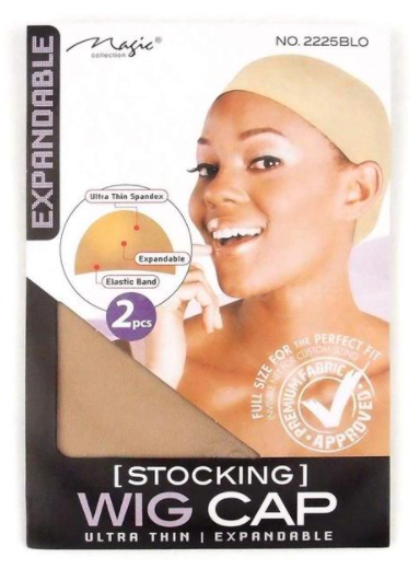 Magic Collection Women's Stocking Wig Cap Blonde ( 2225 )