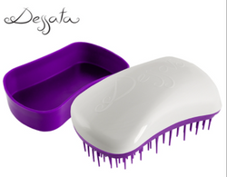 Dessata Mini Detangling Brush. White & Purple