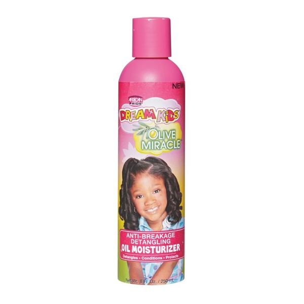 Africa Pride Dream Kids Anti-Breakage Detangling Oil Moisturizer 8oz