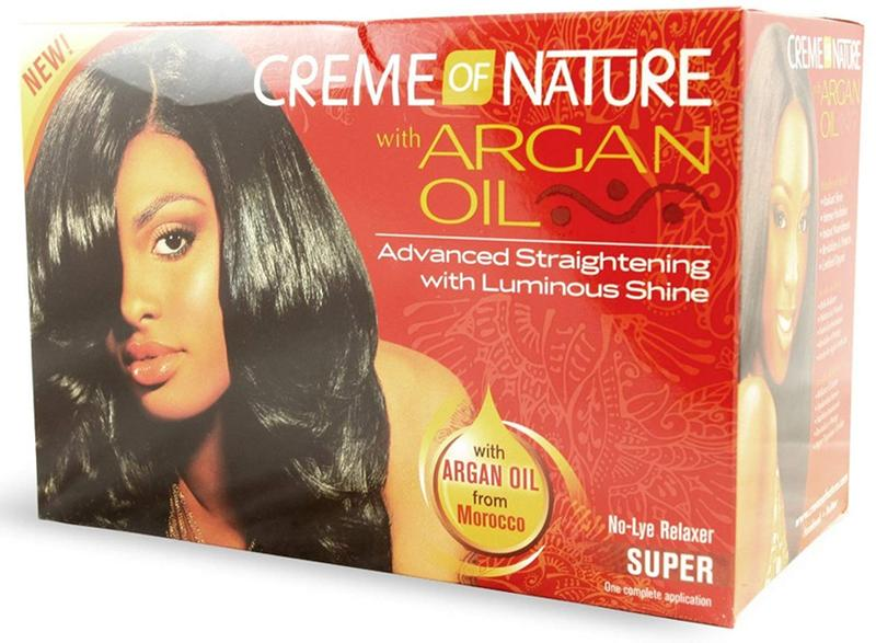 Creme Of Nature With Argan Oil Relaxer