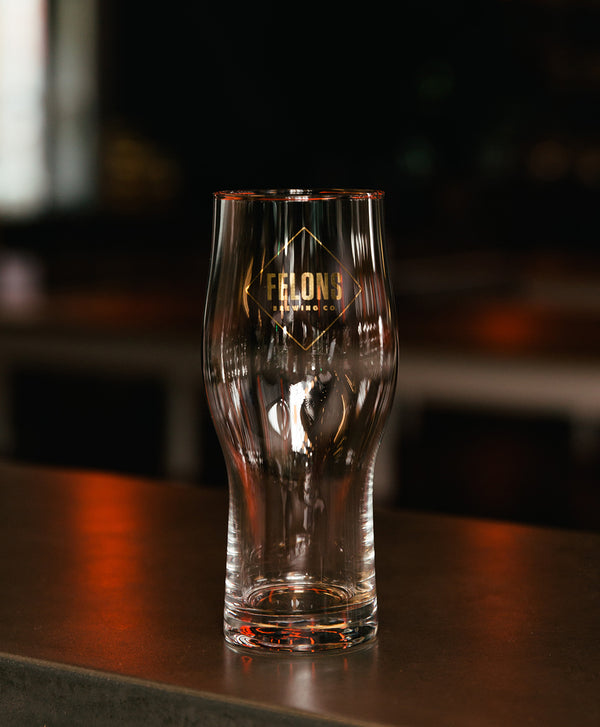 Gold Diamond Glass - 473mL