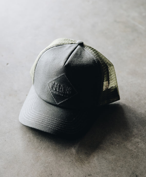 Olive Trucker Hat