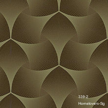Load image into Gallery viewer, Geometric Pattern Wallpaper 339-1 (3 colourways) (Korea)