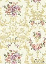 Load image into Gallery viewer, Flower Design Wallpaper 346-1 (3 colourways) (Korea)