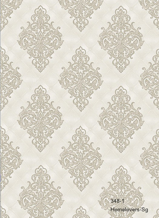 Damask Pattern 348-1 (3 colourways) (Korea)