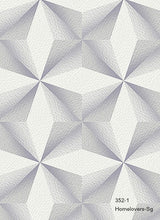Load image into Gallery viewer, Geometric Pattern Wallpaper 352-1 (2 colourways) (Korea)