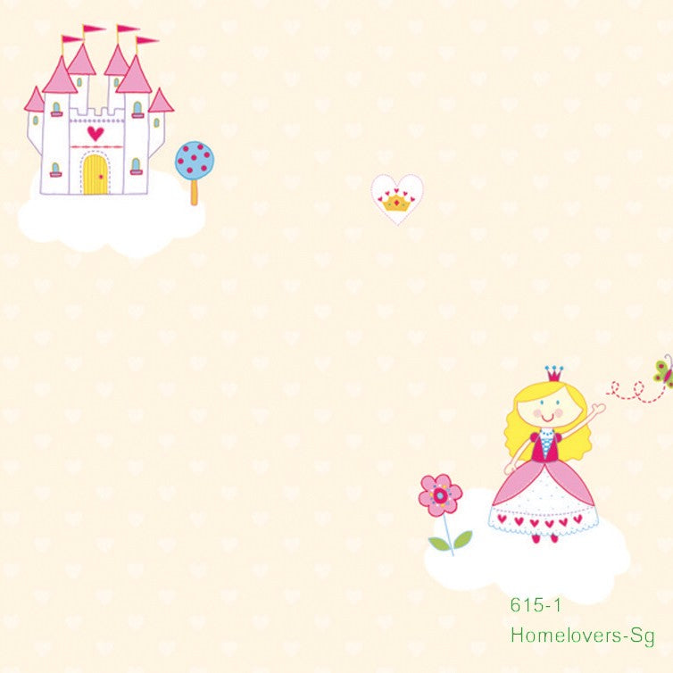 Children Dream Wallpaper 615-1 (Korea)
