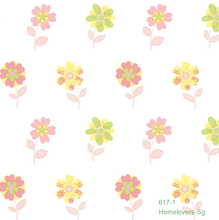 Load image into Gallery viewer, Flower Wallpaper 617-1 (Korea)