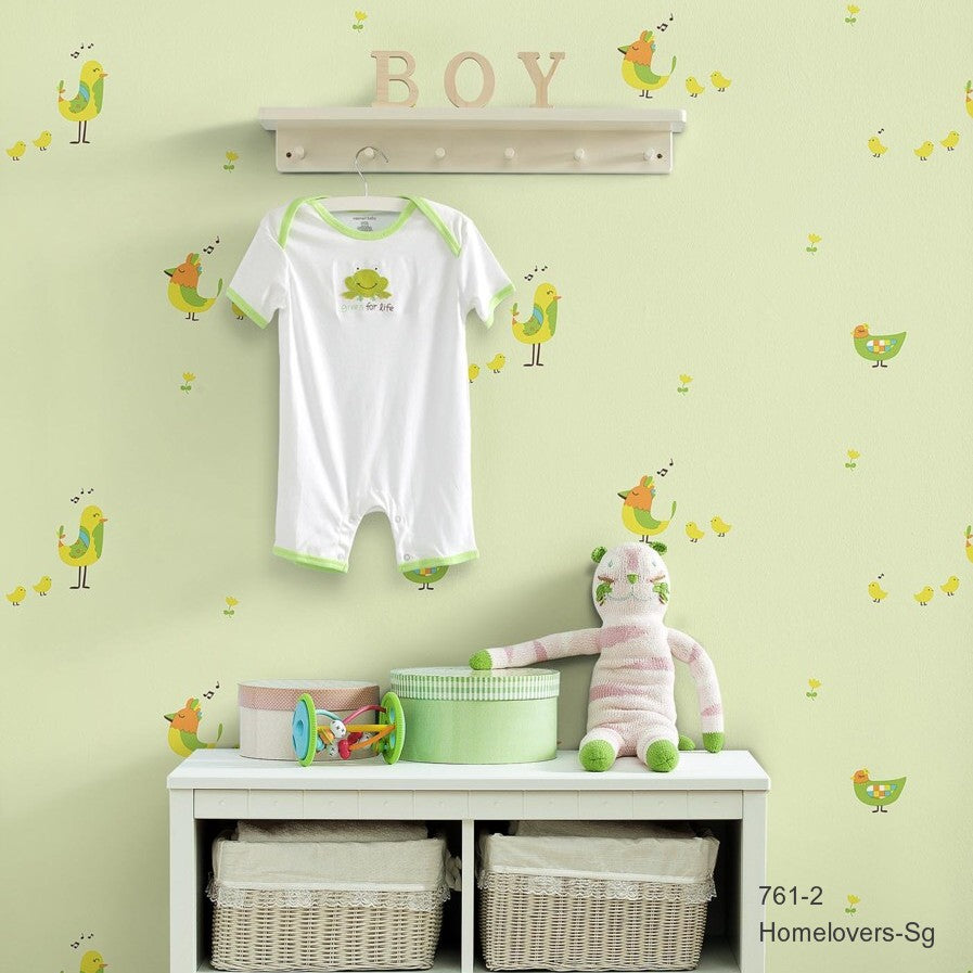 Children Dream Wallpaper 761-2 (Korea)