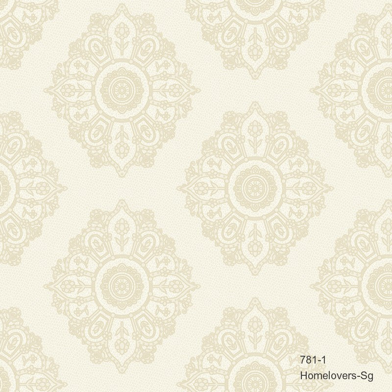 Damask Pattern 781-1 (3 colourways) (Korea)
