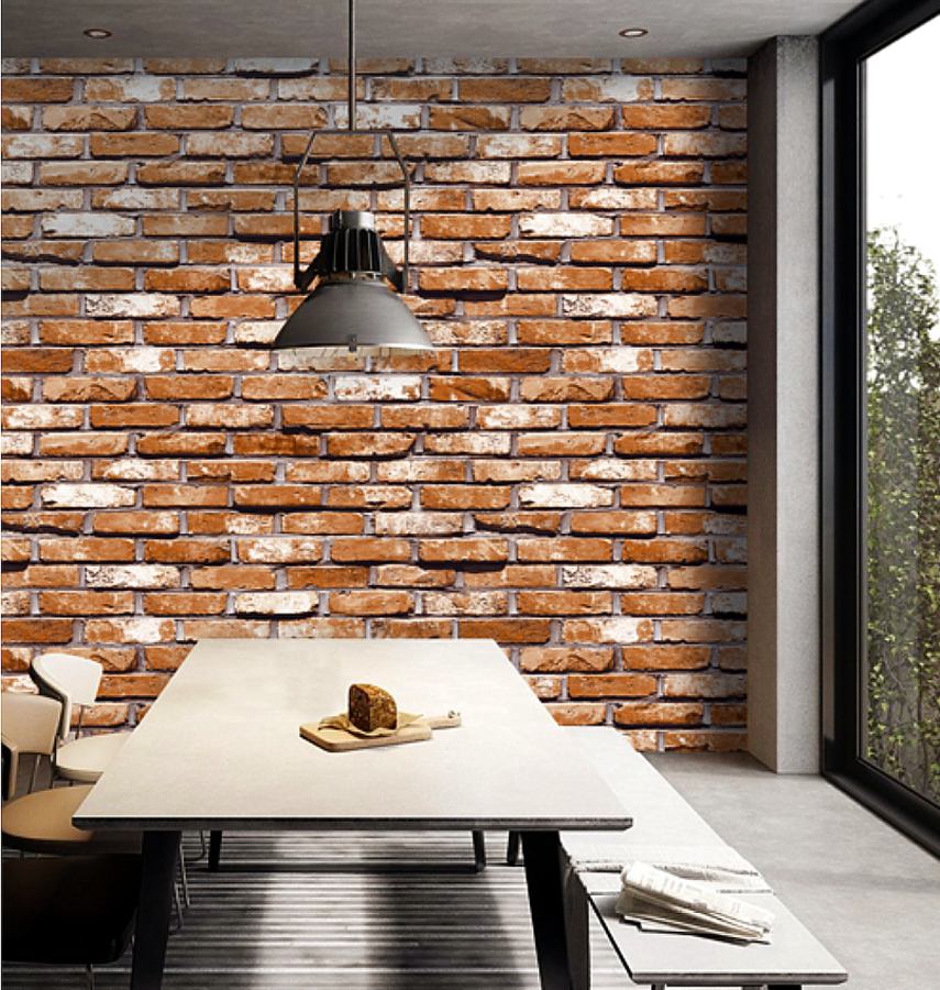 Red Brick Wallpaper 870333 (Korea)